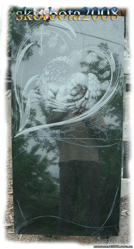 памятник гранитный ребенку